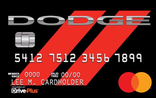 Dodge DrivePlus Mastercard